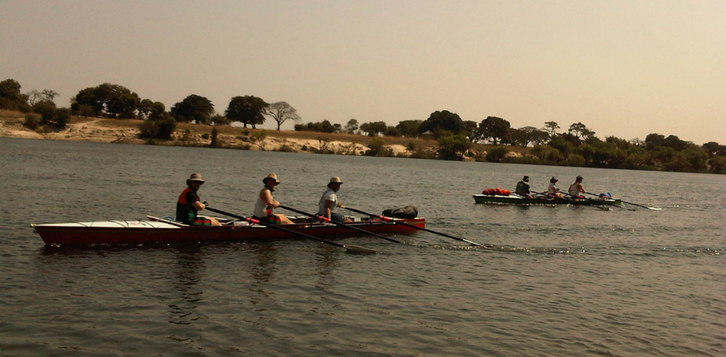 Kafue Sculling