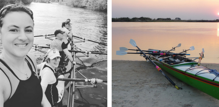 Coxswain to sculler